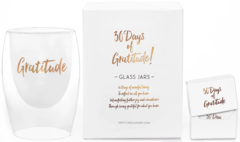 Gratitude Glass Jars 30 Days of Gratitude Glass Jar
