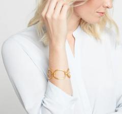 Julie Vos Aspen Link Bracelet - Gold