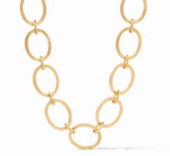 Julie Vos Aspen Link Necklace - Gold