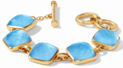 Julie Vos Catalina Bracelet - Iridescent Pacific Blue