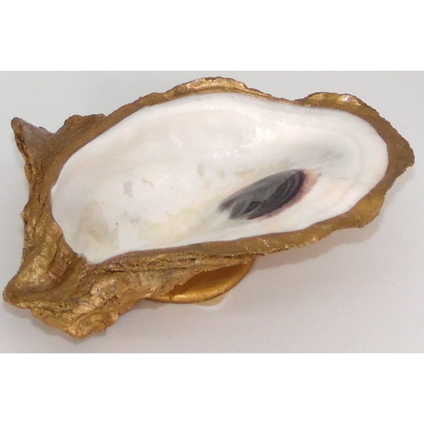 Grit and Grace Gold Oyster Dish