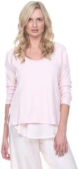 PJ Harlow Frankie Sweatshirt - Blush, Dark Silver, or Pearl