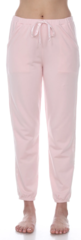 PJ Harlow Blair French Terry Sweat Pant With Satin Trim - Blush, Dark Silver or Pearl