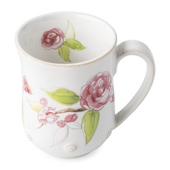 Juliska Berry and Thread Floral Sketch Camellia Mug (FB06A/88)