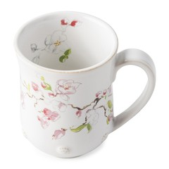 Juliska Berry and Thread Floral Sketch Cherry Blossom Mug (FB06B/88)