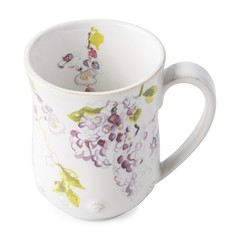 Juliska Berry and Thread Floral Sketch Wisteria Mug (FB06D/88)