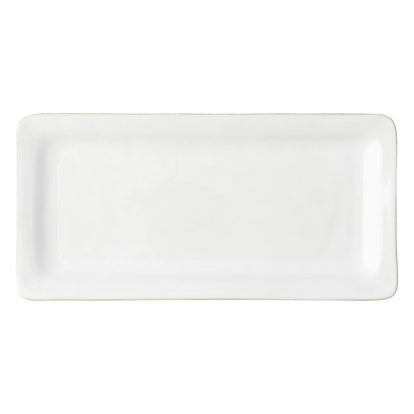Juliska Puro Whitewash Rectangular Appetizer Platter (KS54/10)