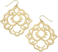 Susan Shaw Jewelry Artesian Filigree Earrings