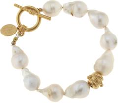 Susan Shaw Jewelry Baroque Pearl Bracelet