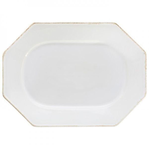 Costa Nova > Luzia Branco > Octangal Platter
