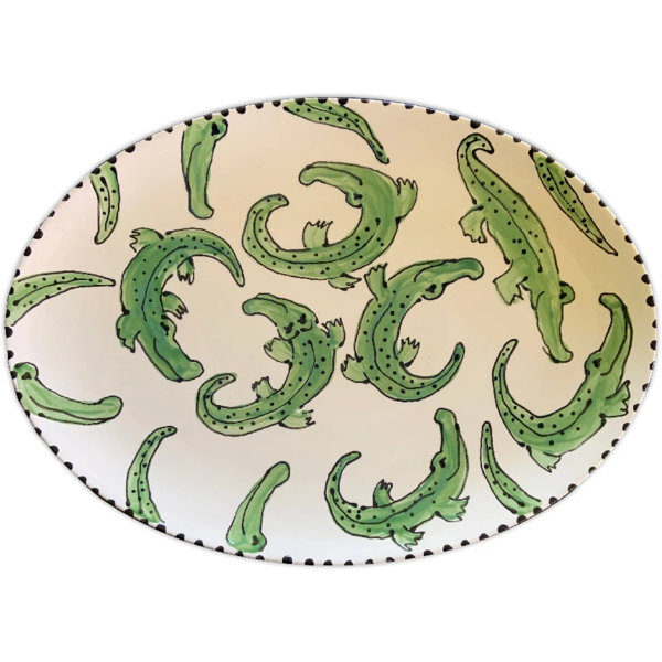 Magnolia Creative > Alligator Oval Platter
