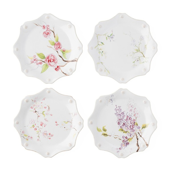 Juliska > Berry and Thread Floral Sketch > Dessert Set