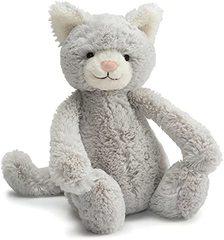Jellycat Bashful Kitty Grey - Medium