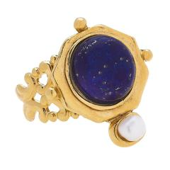 Susan Shaw Jewelry Becca Ring - Blue Lapis (9950BL)