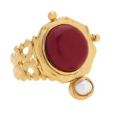 Susan Shaw Jewelry Becca Ring - Ruby Jade (9950R)