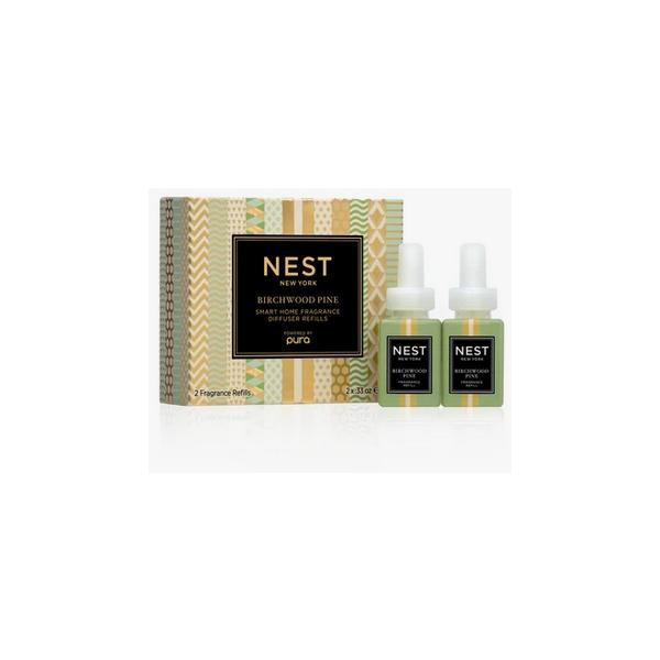 Nest Birchwood Pine Refill Duo for Pura Smart Home Fragrance Diffuser