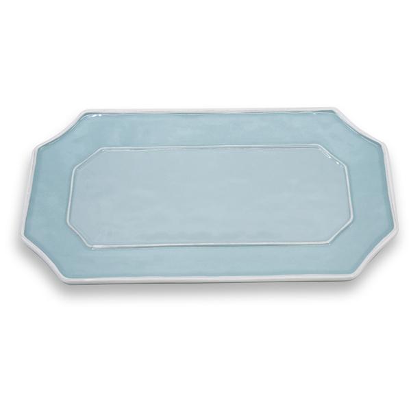 Beatriz Ball > Vida Charleston Blue > Long Rectangle Platter