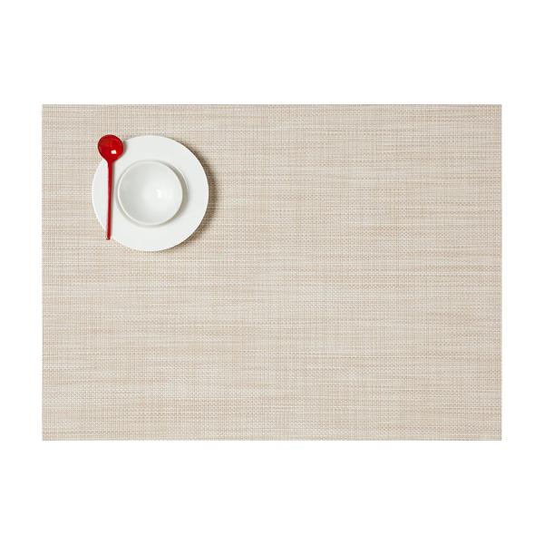 Chilewich > Mini Basketweave Placemat ( Parchment)