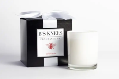 B's Knees Fragrance Co. Celebrate Candle