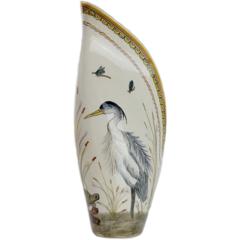 Pamela Sack Heron Vase (Large)
