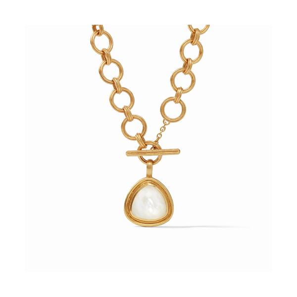 Julie Vos Barcelona Statement Necklace - Crystal