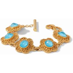 Julie Vos Colette Bracelet Iridescent Pacific Blue