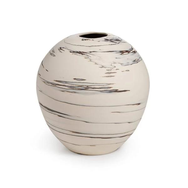 Simon Pearce > Beachstone > Round Vase