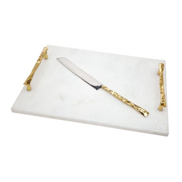 Godinger > Harper Challah Board w/Knife