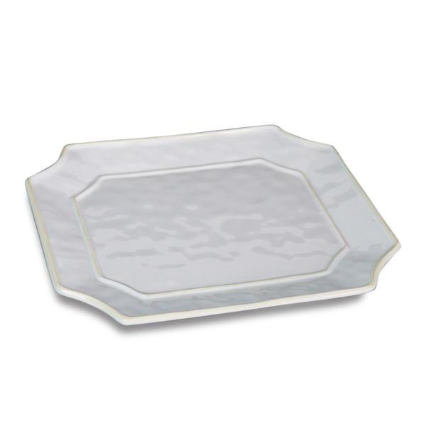 Beatriz Ball > Vida Charleston White Melamine > Rectangle Platter