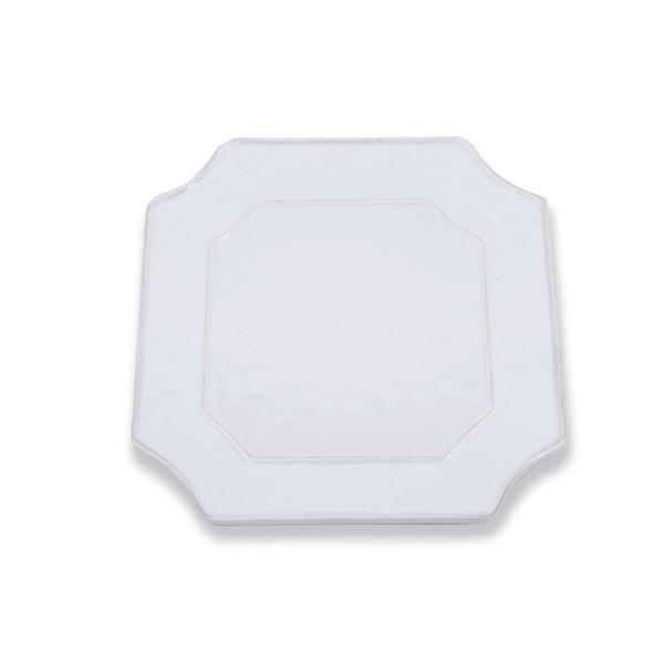 Beatriz Ball > Vida Charleston White Melamine > Square Platter