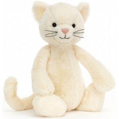 Jellycat Bashful Cream Kitten - Medium