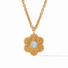 Julie Vos Colette Demi Pendant Iridescent Clear Crystal (N368GIRC00)