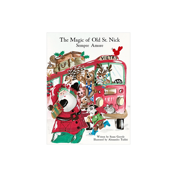 Vietri Old St Nick The Magic of Old St. Nick: Sempre Amore Children's Book (OSN-37004)