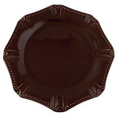 Skyros Designs Isabella Chocolate Dinner Plate (1395CH)