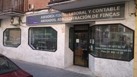Exterior de la oficina