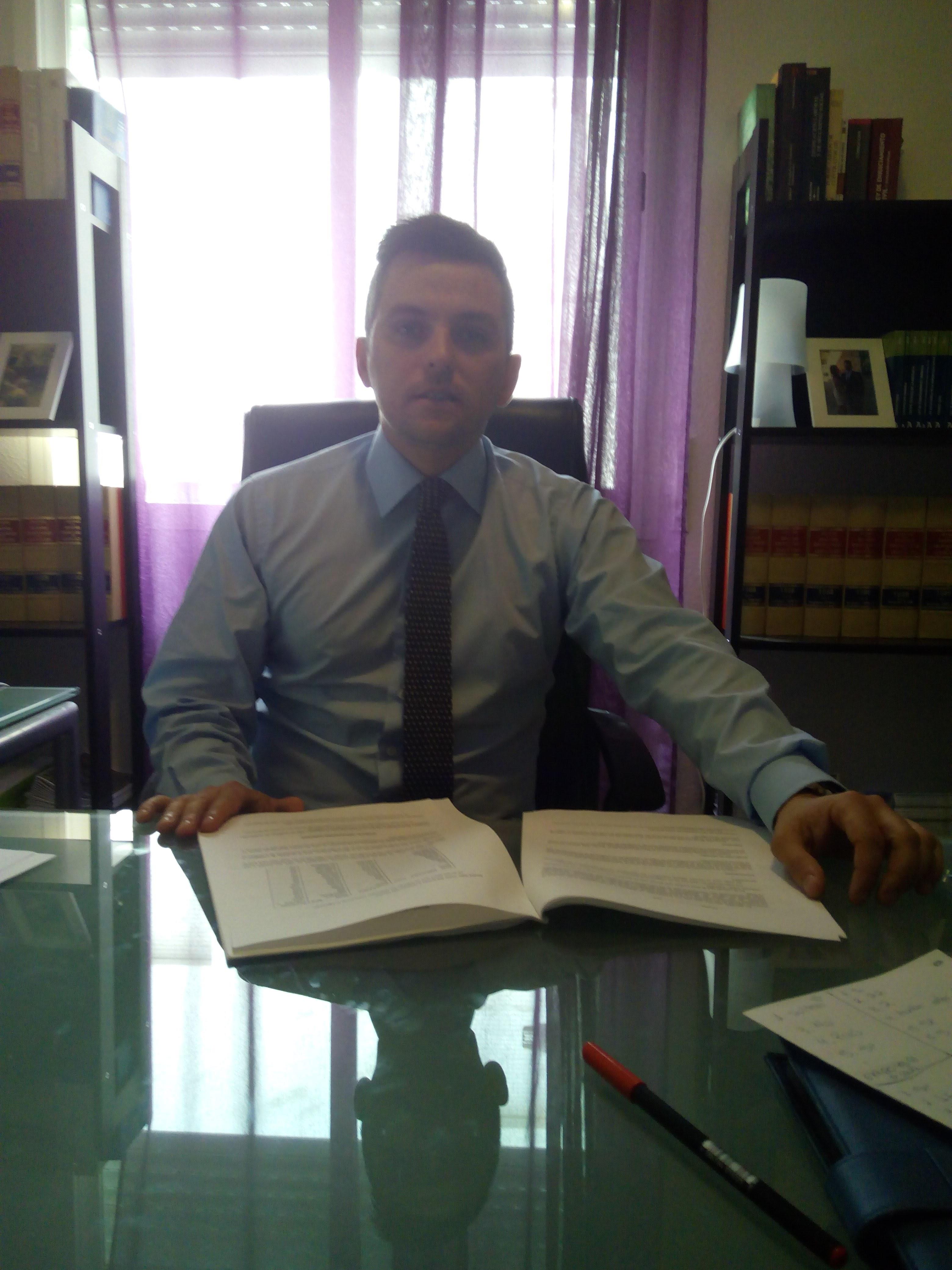 Pablo Aguilera Cerezo. Socio fundador y abogado