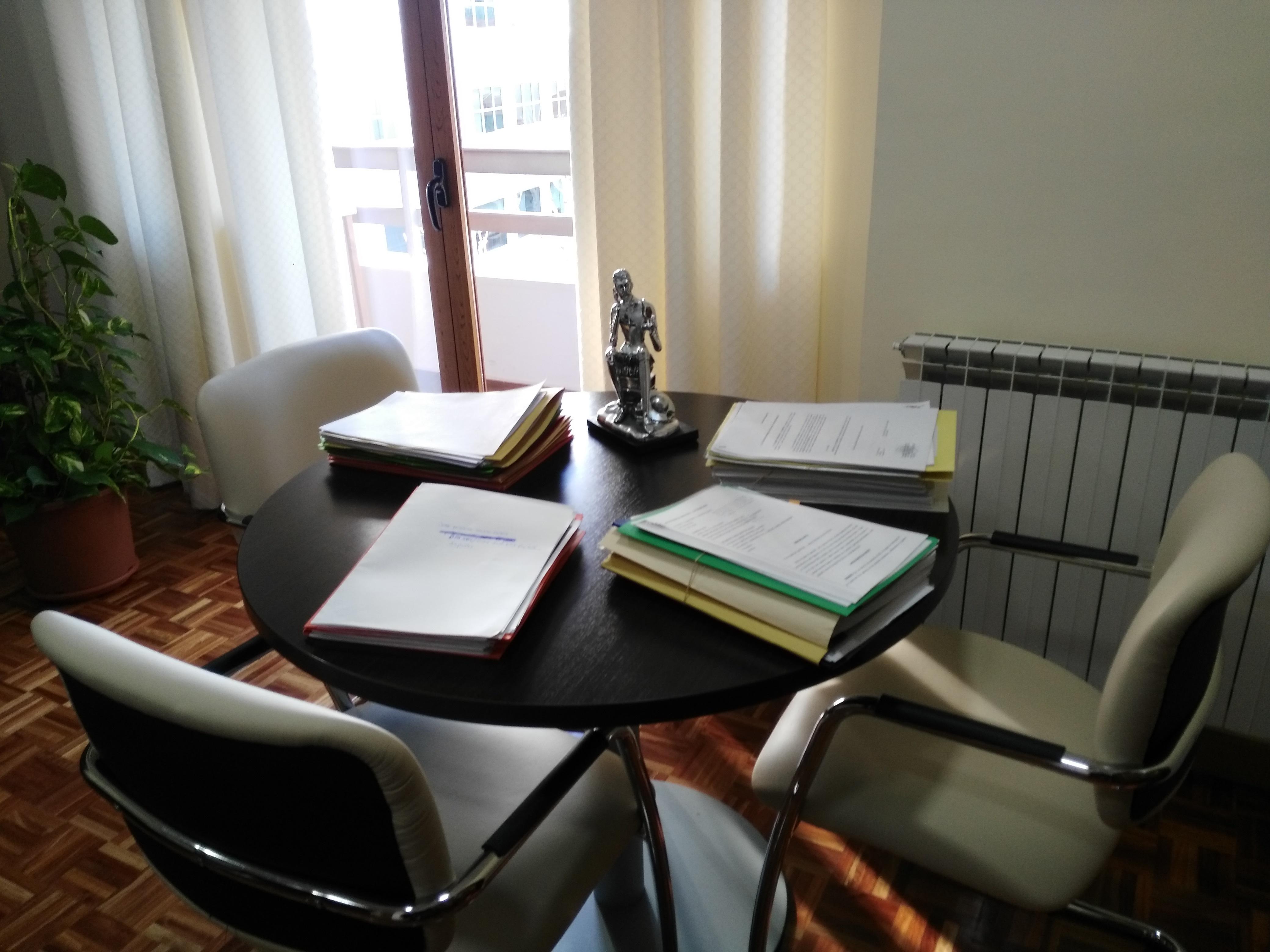 Nuestra mesa de trabajo