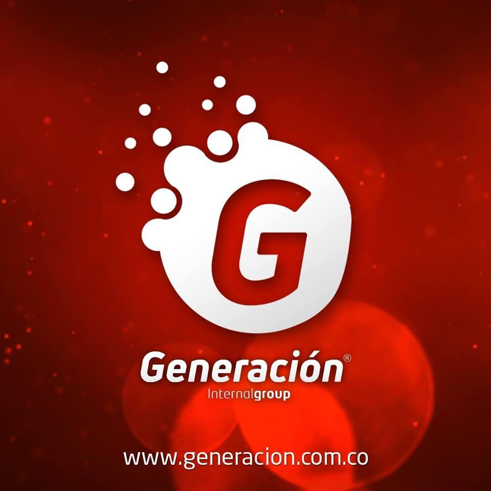 Logo Generación Internal Group, contadores, abogados, talento humano e imagen corporativa