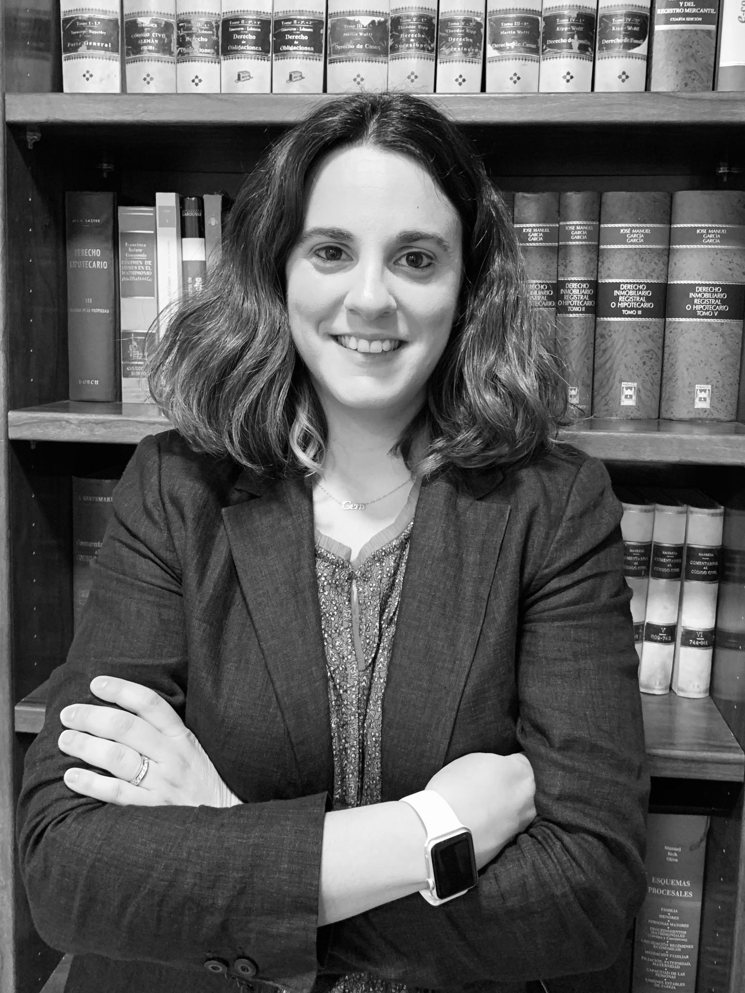 María Eugenia Larios, socia del Bufete Larios.