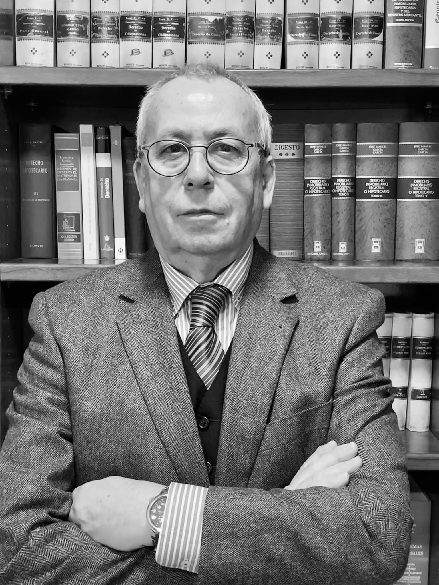 Pedro Larios, socio fundador de Bufete Larios.