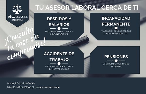 consultas laborales, derecho trabajo, seguridad social, despido, indemnizaciones, finiquitos