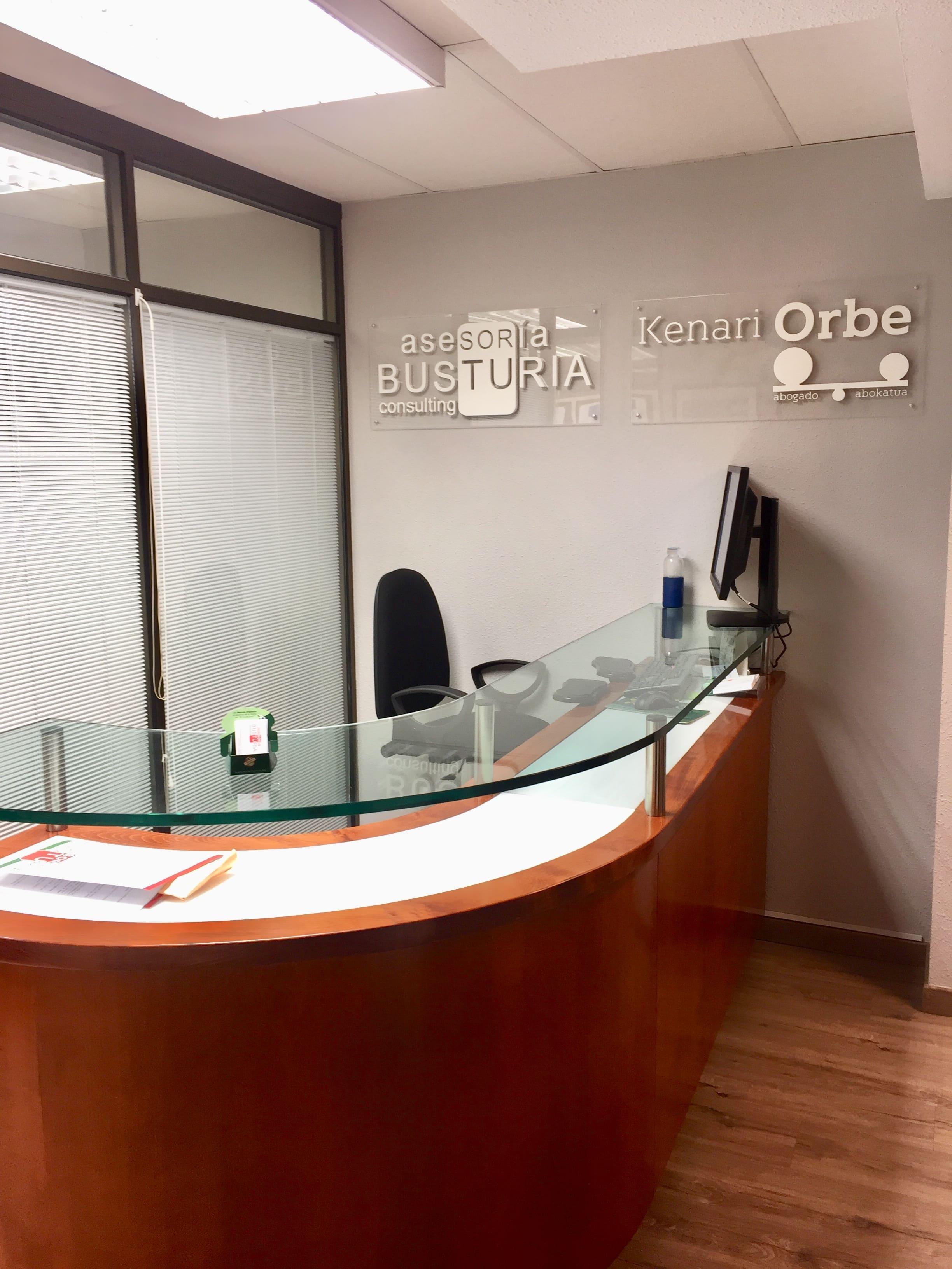 Interior de nuestro despacho