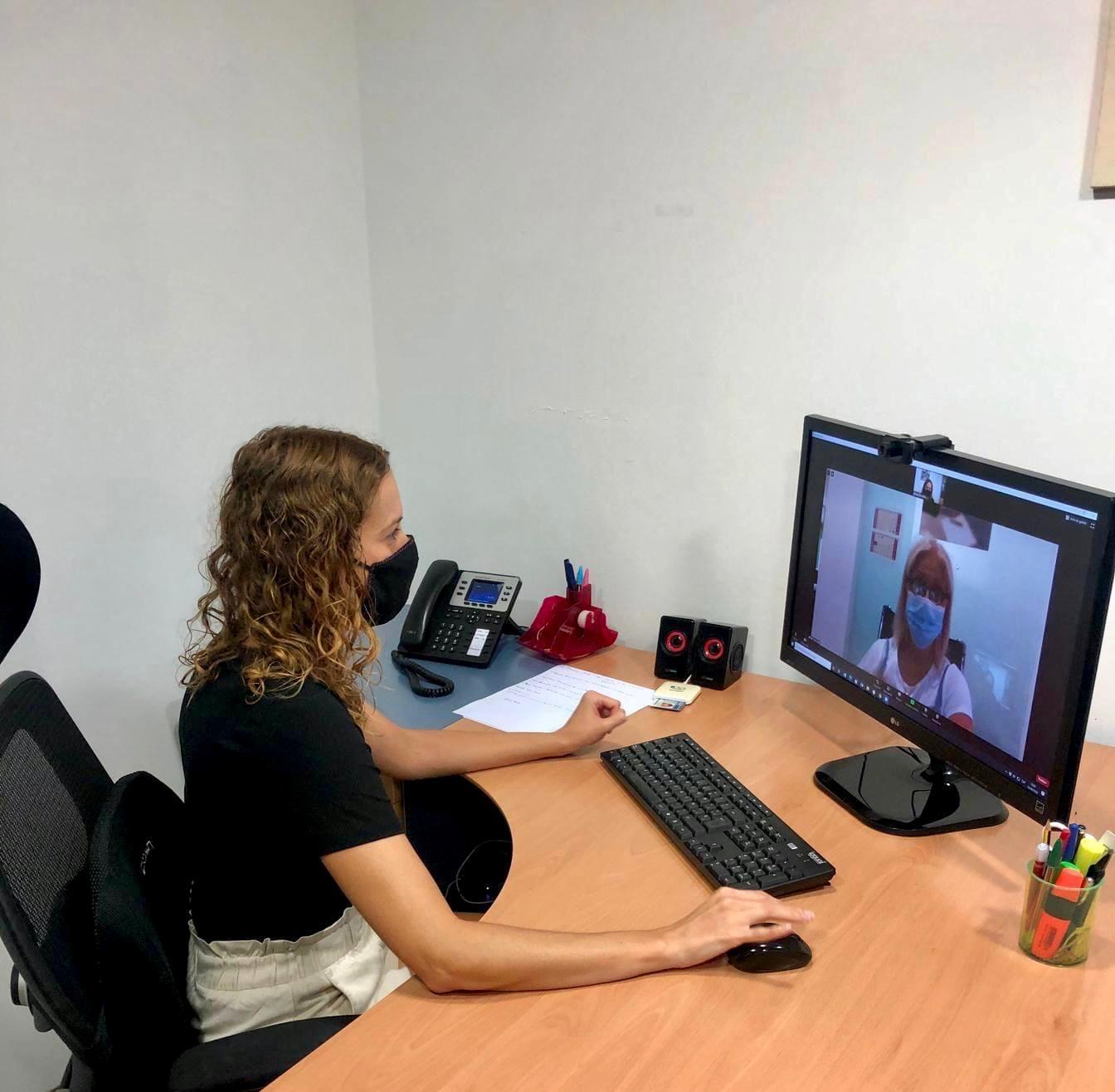 Visita online con cliente