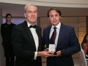 Rafael Jiménez Vecino, Medalla de oro Foro Europa