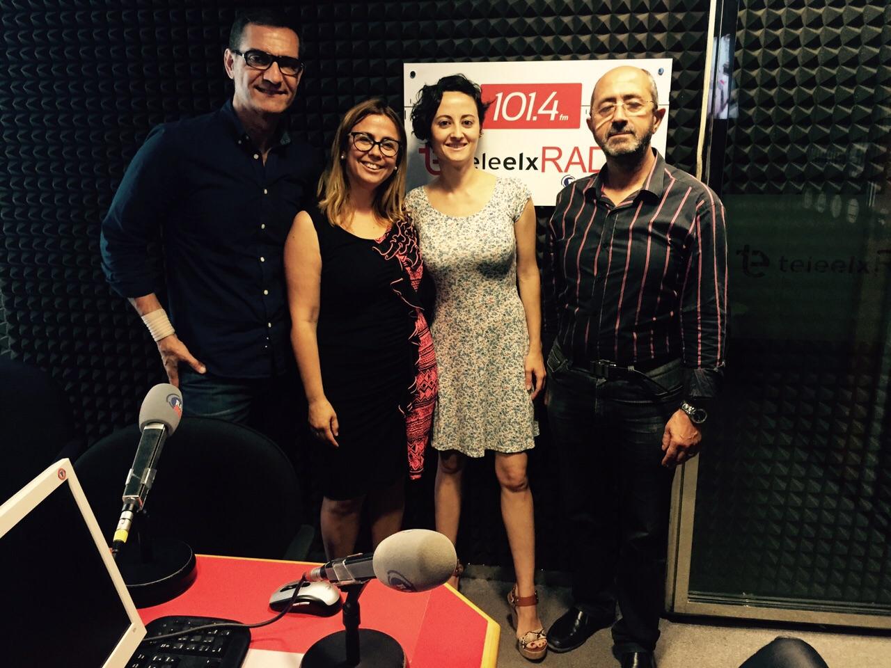 Entrevista de Radio a la abogada Esther Barbudo Vázquez integrante de ILLICE LEX.