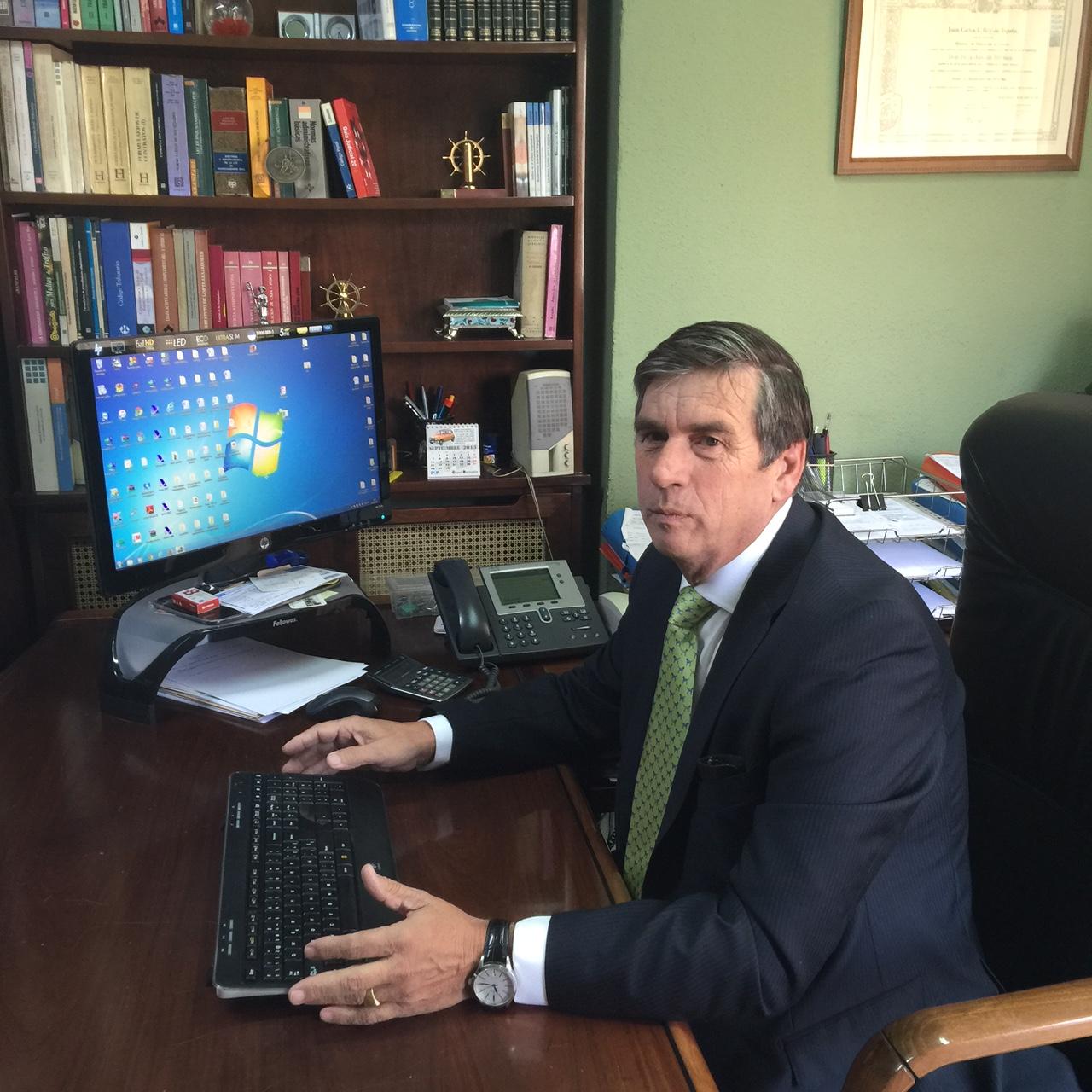 El Director del despacho, Felix Antolín Herniz