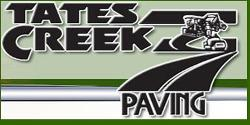 Website for Tates Creek Paving