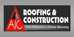 Website for AIC Roofing and Construction, Inc