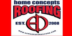 Website for Home Concepts Roofing