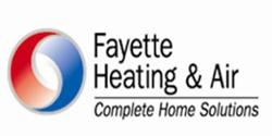 Website for Fayette Heating & Air
